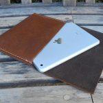 Test de la Housse en cuir iPad Norêve Tradition