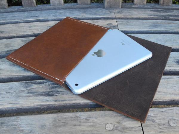 Housse en cuir iPad