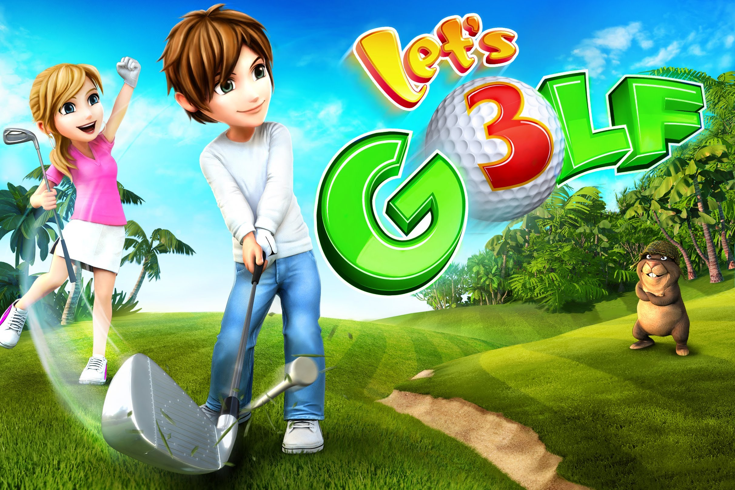 Let's Golf sur iOS