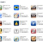 Le point sur les applications iPad