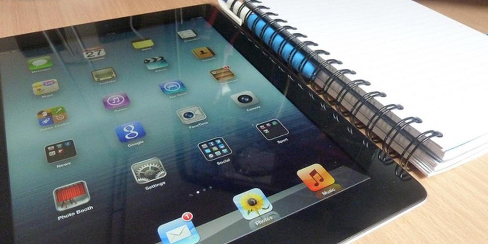 iPad étudiant